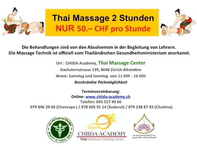 Massage offer